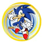 Sonic Dinner the Hedgehog Plates (8 c...