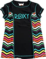 Roxy Big Girls'  Wave Wonderer Short Sleeve Rashguard
