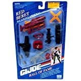 Red Beret GI Joe Hall of Fame 1993 Weapons Arsenal
