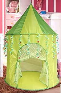 Green Leaf Princess Play Tent Castle from SID TRADING