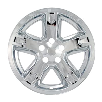 "Bully Imposter IMP-321X, Dodge, 17"" Chrome Replica Wheel Cover, (Set of 4)"