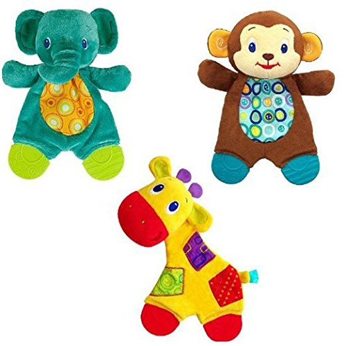 Bright Starts Snuggle & Teethe - Monkey - 1
