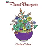 Libro para Colorear Floral Bouquets Coloring Book