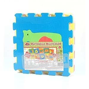 Amazon.com : globo - jeu carreaux multicolor animaux : Baby