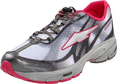 AVIA  Women's Avi-lite Guidance 9 Running Shoe,White/Grey/Dark Pink,6 M US