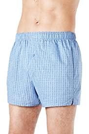 3 Pack Authentic Pure Cotton Assorted Boxers