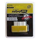隠れた力を黄色のニトロobd 2ベンジンカーチップは1996年からベンジンガソリン車のためのドライブボックスのプラグとニトロobd 2チューニングを上げる