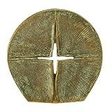 Stehkreuz Bronze »Durchbrechendes Licht«