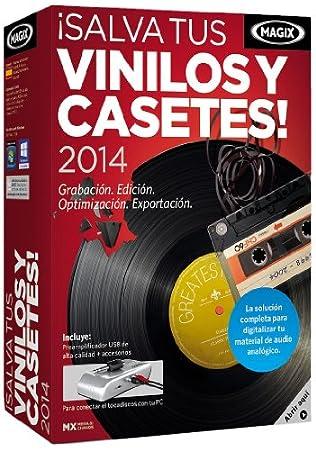 MAGIX ¡Salva Tus Vinilos Y Casetes! 2014 - Software De Gestión Multimedia