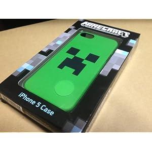 ThinkGeek MINECRAFT(マインクラフト) クリーパー・フェイス iPhone 5 ケース [並行輸入/米国正規品]