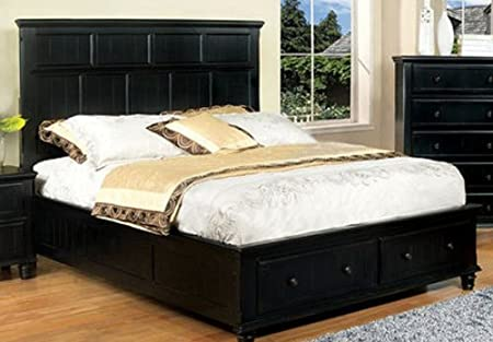 WelcomeiHome .INC Willow Creek Traditional Style Black Finish Full Size Bed Frame at Sears.com