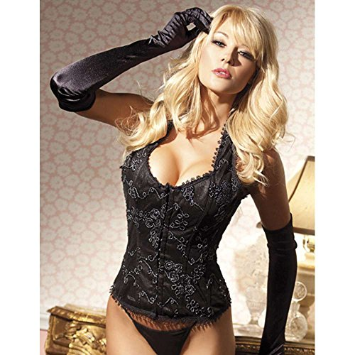 Be Wicked Costumes CLAUDETTE CORSET- BLACK
