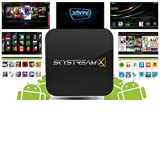 2014 SkyStreamX Dual Core Android Smart TV Box - Pre-loaded Gotham 13.1 XBMC AddOns - Streaming Internet Media... by SkyStream Technologies
