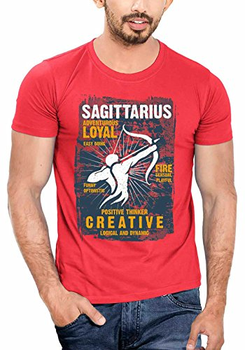 Men 39 S Cotton T Shirt With Zodiac Sagittarius