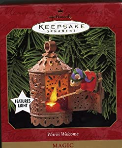 Hallmark Keepsake Ornament Warm Welcome 1999