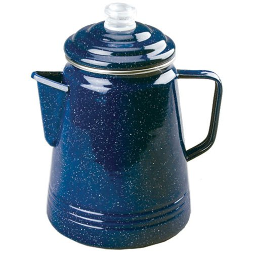 Coleman 14-Cup Enamelware Coffee Percolator