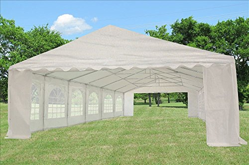 Best 40 X20 Pe Tent White Heavy Duty Party Wedding