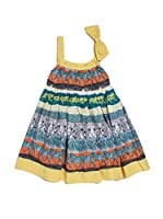 Fracomina Mini Vestido (Multicolor)