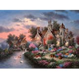 Mill Creek Manor 1000pc Jigsaw Puzzle by Dennis Lewan