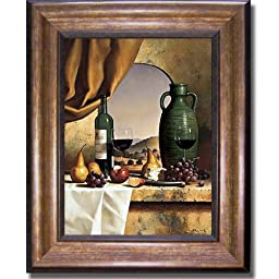 Arch with a View by Loran Speck Premium Bronze-Gold Framed Canvas (Ready-to-Hang)