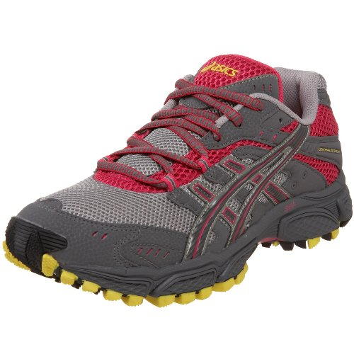 ASICS Women's GEL-Trail Attack 6 Running Shoe,Ash/Stone/Raspberry,6 M