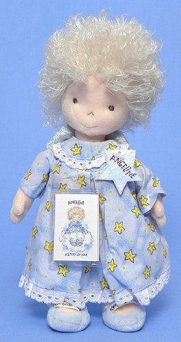 Ty Angeline Doll in Blue Dress 10""