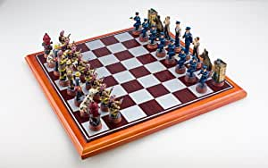 Sterling Game Police Fireman Themed Chess Set Toys Games