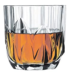 Pasabahce Topaz Whisky Glass,300 ml, Set of 6