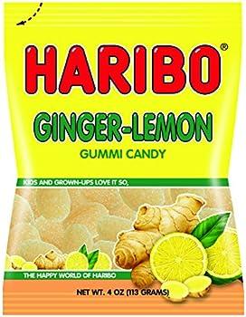 2-Pack Haribo Ginger Lemon Gummy Candy