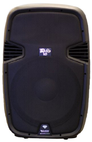 Ds18 Ds-Pa8Bt 8-Inch 1,000 Watts 2-Way Powered/Active Speaker Box With Bt/Fm/Usb/Sd/Eq/Mp3/Microphone And Wheels