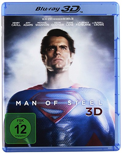 Man of Steel [3D Blu-ray]