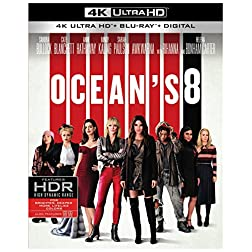 Ocean's 8 [4K Ultra HD + Blu-ray]