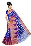 Makeway Women's Art Silk Saree (299_Blue)