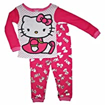 Hello Kitty Girls 12M-5T Cotton Sleepwear Set (18 Months)