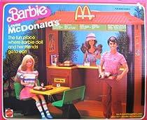 Big Sale Best Cheap Deals Barbie LOVES McDONALD'S Playset w 32 Pieces (1982)
