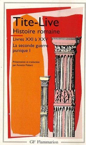Histoire romaine, livres XXI à XXV