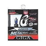 カーメイト 車用 ヘッドライト ハロゲン GIGA メタルアーク HB 4650K ホワイト 車検対応 BD622