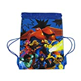 Officially Licensed Disney Drawstring Bag - Big Hero 6 Blue