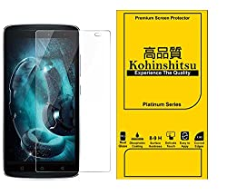 Kohinshitsu Platinum Series Premium 0.30mm Temepered Glass Screen Guard for Lenovo Vibe K4 Note - A7010 Mobile Phone 2016 Model with Oleophobic Coating / 9H Hardness / 2.5D Curved Edges.