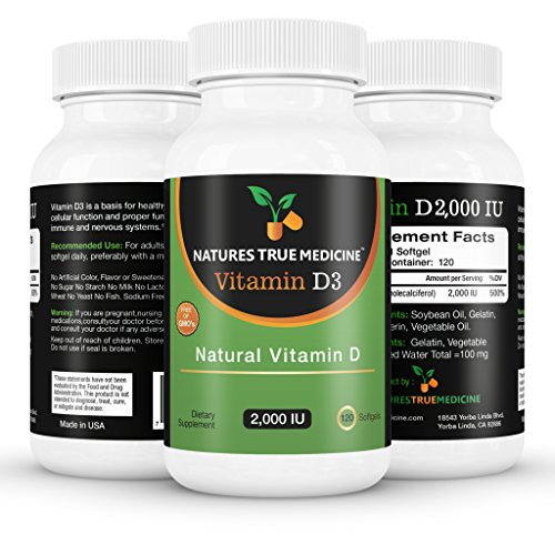 Vitamin D3 2000Iu, 100% Pure, Premium Quality. The Number 1 Best Vitamin D Supplement Available Online Today. Liquid Softgel Vitamin D 2000 Capsules. 100% Natural Ingredients, No Artificial Colours, No Magnesium Stearate Or Other Cheap And Harmful Fillers