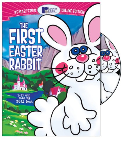 Cover art for  The First Easter Rabbit