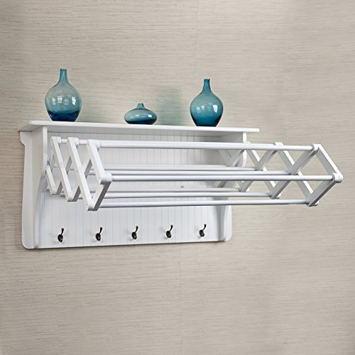 Danya B. Accordion Drying Rack (Laundry Wall Drying Rack compare prices)