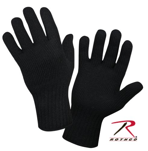 Gloves Made Of Old Fashion Thermal Underwear