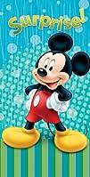 Disney Beach Towel Mickey Mouse Blue…