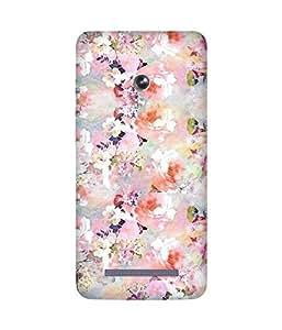 Multicolour Flowers Asus Zenfone 5 Case