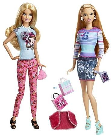 Barbie - Stylin Friends - Barbie & Summer - BDB42 - Mattel