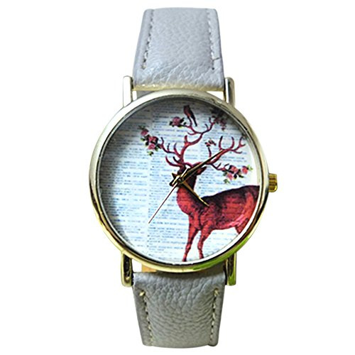 sanwoodr-fashion-wristwatch-womens-dress-watch-with-cute-sika-deer-dial-and-faux-leatehr-strap-grey