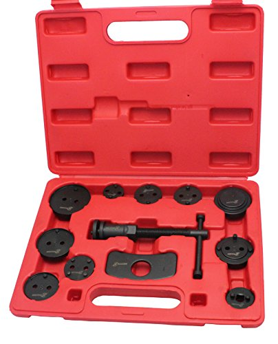 Motivx Tools 12 Piece Brake Caliper Wind Back Tool Set for Disk Brake Pad Replacement (Rear Disc Brake Caliper Tool compare prices)
