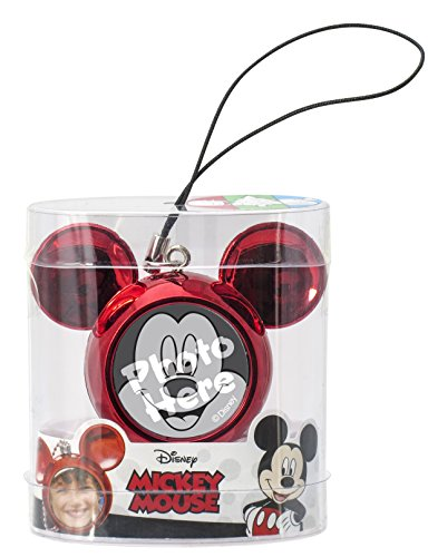 Disney Mickey Icon Charm Key Ring, Red