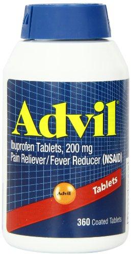 360 Comprimés Advil revêtus. Ibuprofène